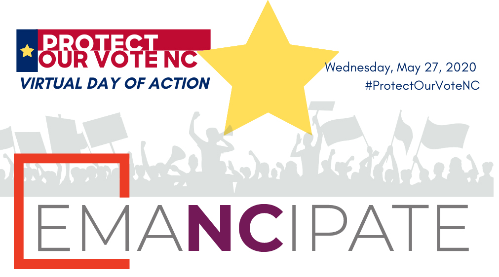 Join North Carolina's Virtual Day of Action to Protect Our Votes Tomorrow!