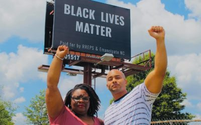 Emancipate NC Raises Another Billboard for Black Lives