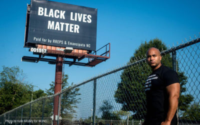 WUNC Profiles Emancipate NC Community Organizer Kerwin Pittman