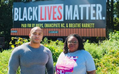 New Billboards Affirm Black Lives in Harnett County