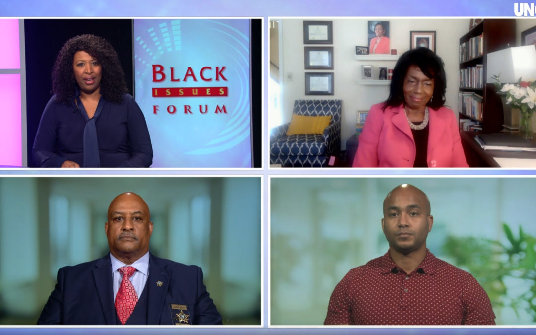 Emancipate NC's Kerwin Pittman Appears on UNC TV's Black Issues Forum to Discuss Defunding the Police