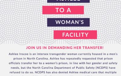 We Demand NCDPS Transfer Ashlee
