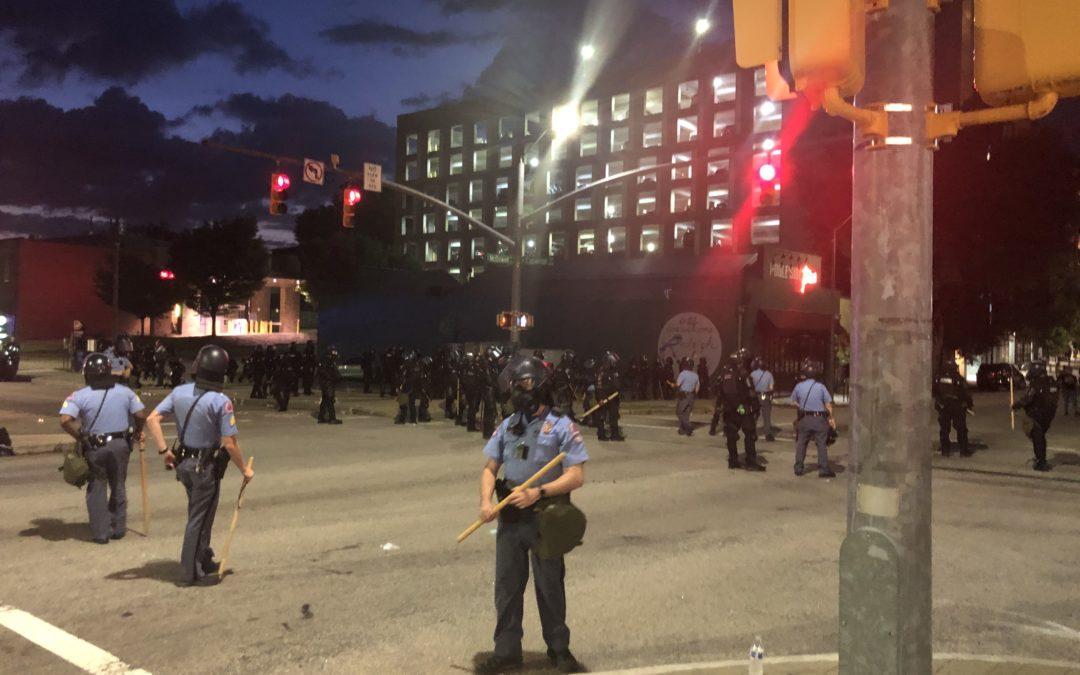 Protest Defense Update